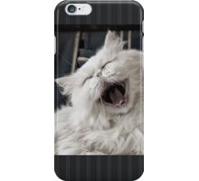 They say that NOTHING beats a good belly laugh!  iPhone Case/Skin