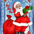 Jolly Santa Greetings by SpiceTree