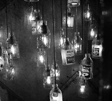 Hanging Bottles by Adam Irving