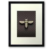 The Bee Cyborg Framed Print