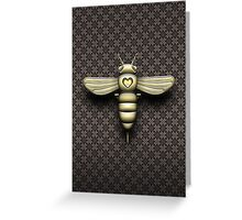 The Bee Cyborg Greeting Card