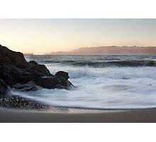 Dusk - San Francisco Bay Photographic Print