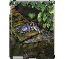 DON'T MAKE ME COME OVER THERE AND LOVE U--CAUSE I WILL RIGHT NOW..LOVE TURTLES-PICTURE,PILLOW,CARD,TOTE BAG,ECT. iPad Case/Skin