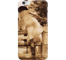 Cowgirl Up, Stock Yards boots and a wet dress. iPhone Case/Skin