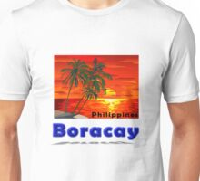 BORACAY Philippines Designer Tees and stickers. Unisex T-Shirt