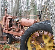 Old trator by cdcantrell