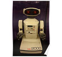 Omnibot 2000, Computer History Museum, Mountain View, California Poster