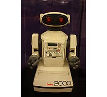 Omnibot 2000, Computer History Museum, Mountain View, California Photographic Print