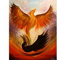 Phoenix. 22 x 28. Acrylic Painting. Photographic Print