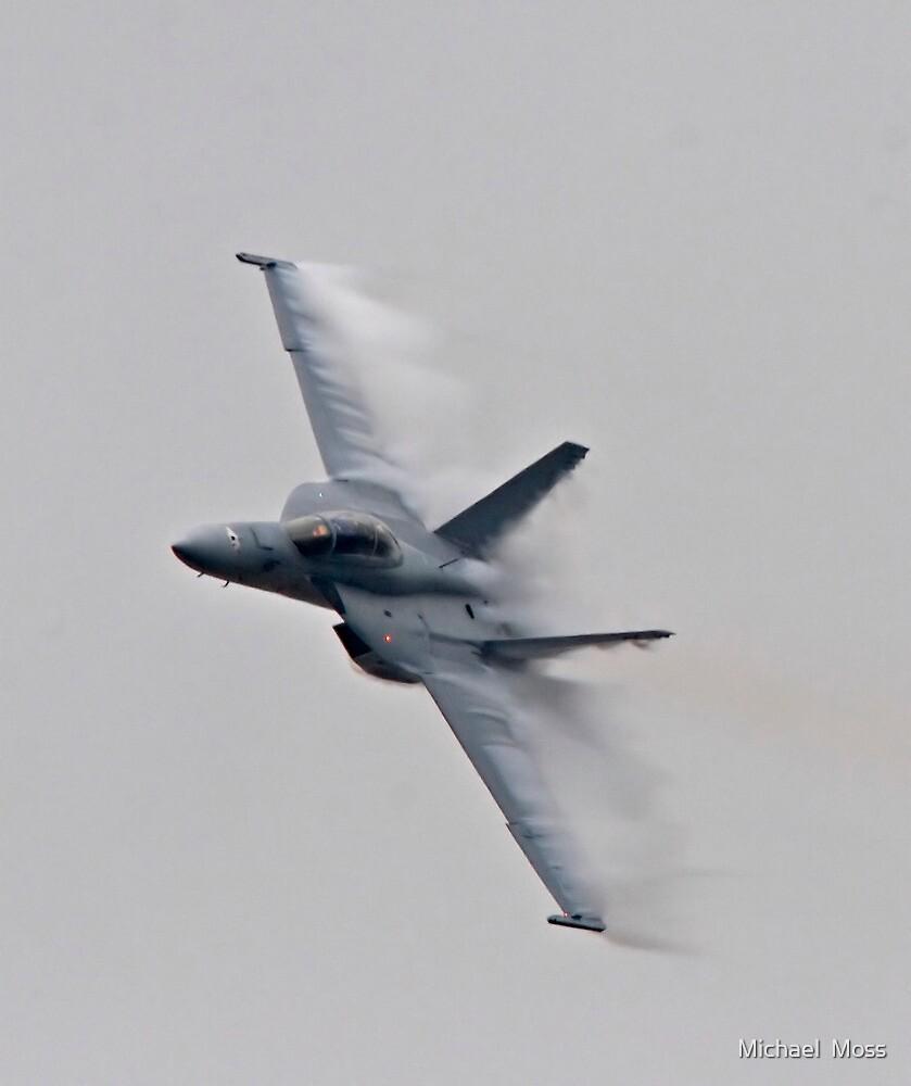 F18- Pt Magu Air Show by Michael  Moss