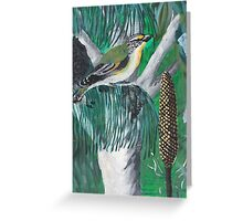 Bird Mural Greeting Card