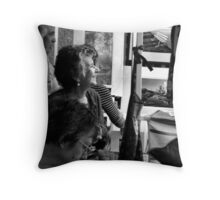 Art  Buyer Throw Pillow