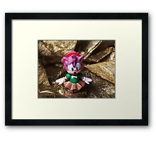 Sonic hero Framed Print