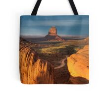 As the Sun sets. Tote Bag