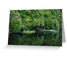 Jetty, Gordon River Greeting Card