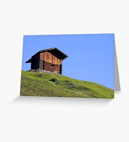 High Above Greeting Card