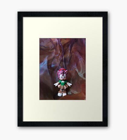 Cute hero Framed Print