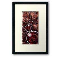 Oy Cherry Framed Print