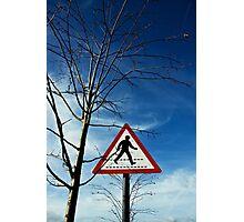 Where am I going? (ambulatory protocol 1) Photographic Print