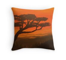 african dream Throw Pillow