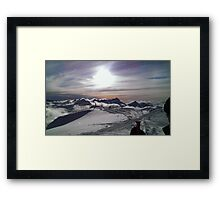 Moutain View Framed Print