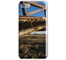 That old manure stacker iPhone Case/Skin