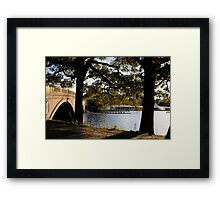 Weeks Bridge Boston Framed Print