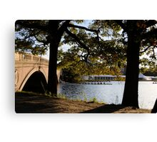 Weeks Bridge Boston Canvas Print