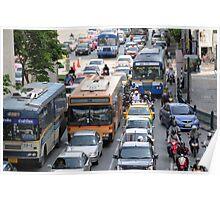 Bangkok traffic 2 Poster
