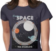 Explore Space Womens Fitted T-Shirt