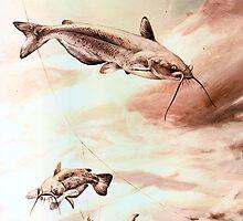 Old Catfish Art. by Nathan Wallace