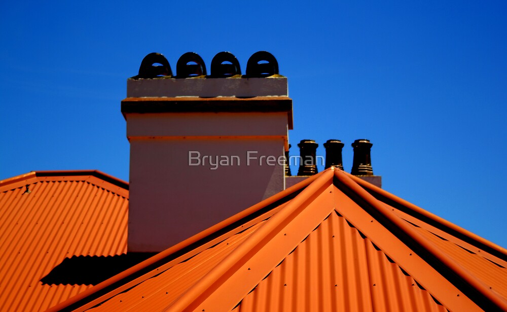 Lighthouse Keepers Cottage - Palm Beach - Sydney - Australia by Bryan Freeman