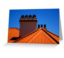 Lighthouse Keepers Cottage - Palm Beach - Sydney - Australia Greeting Card