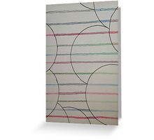 Simple Stripes Greeting Card