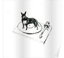 Canine Vinyl Poster