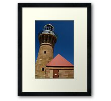 Lighthouse - Palm Beach - Sydney - Australia Framed Print