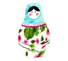 Matryoshka Doll by Paperscratchers
