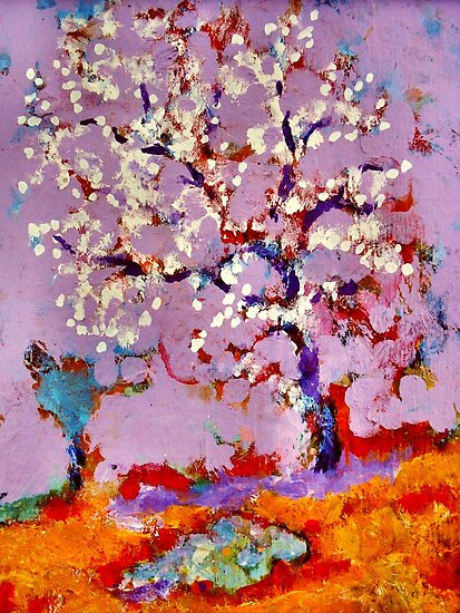 The Blossom Tree by Richard  Tuvey
