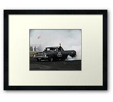 """Smokin"" Framed Print"