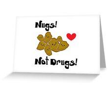 Nugs Greeting Card