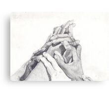 Many Hands Canvas Print