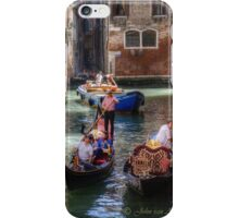 ...traffic jam in Venice.. iPhone Case/Skin