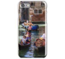 ...traffic jam in Venice.. iPhone Case/Skin