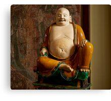 Cuddly Budai Canvas Print