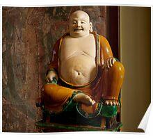 Cuddly Budai Poster