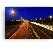 Kwinana Freeway At Dusk  Canvas Print
