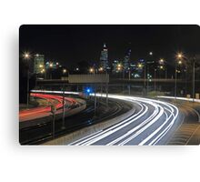 Perth City Traffic  Canvas Print