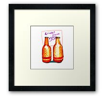 Ginger Beer Framed Print