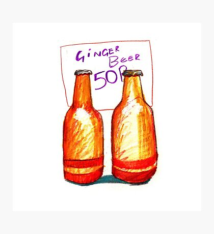 Ginger Beer Photographic Print