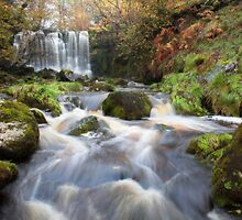 Scale Haw Waterfall - Hebden by SteveMG